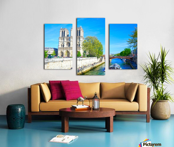 Paris Snapshot in Time 8 of 8 Canvas print