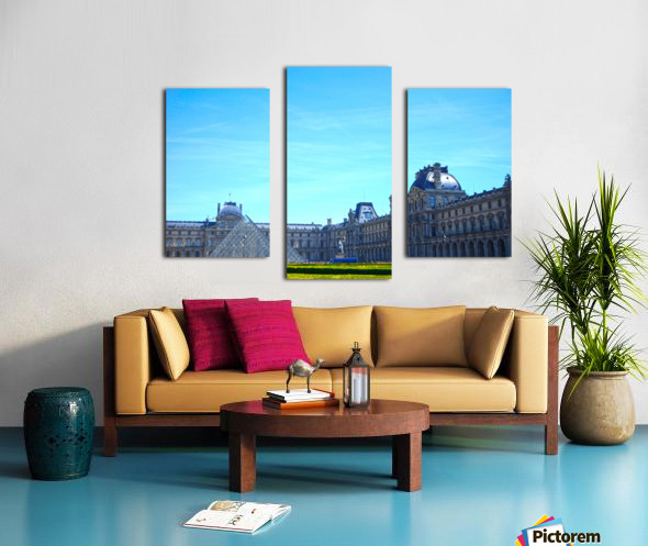 Paris Snapshot in Time 1 of 8 Canvas print