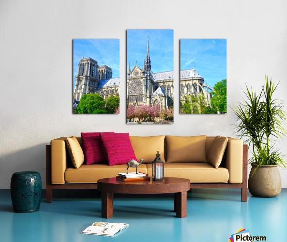 Notre Dame @ Paris Canvas print