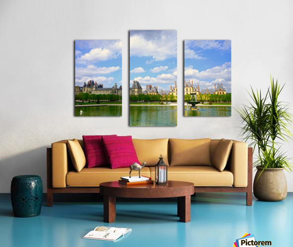 Chateaus of France 4 Canvas print