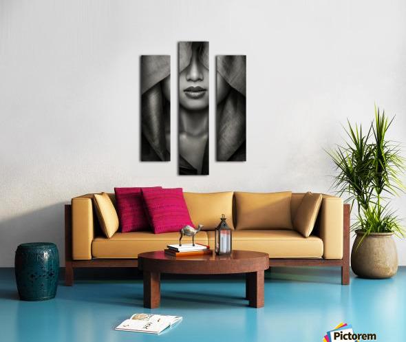 Hood by azalaka   Canvas print