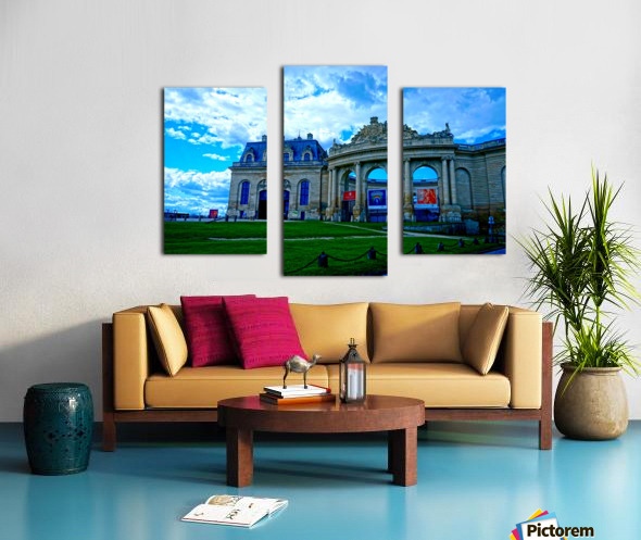 Chateaus of France 8 Canvas print