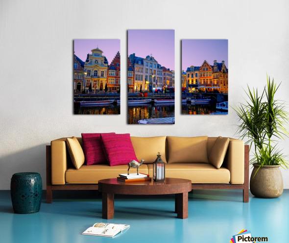 I Dreamed of Belgium Canvas print
