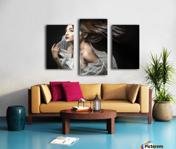 Breezin' Canvas print