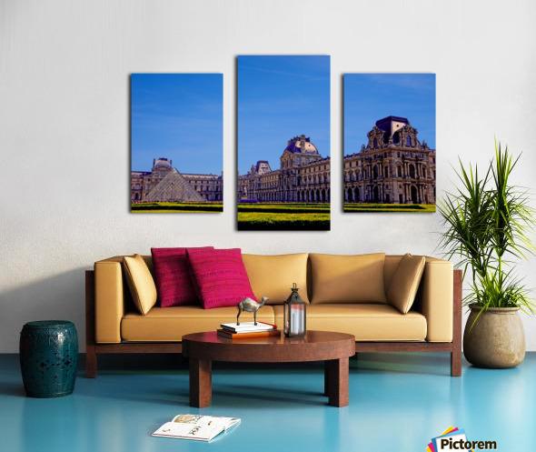 The Louvre Paris 1st Arrondissement Paris Canvas print