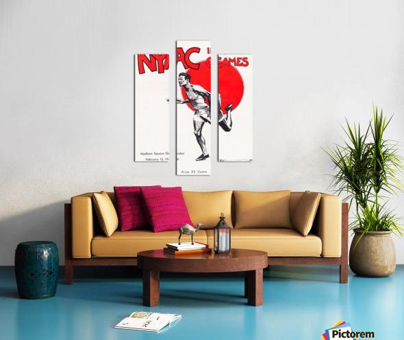1941 New York Indoor Games Canvas print