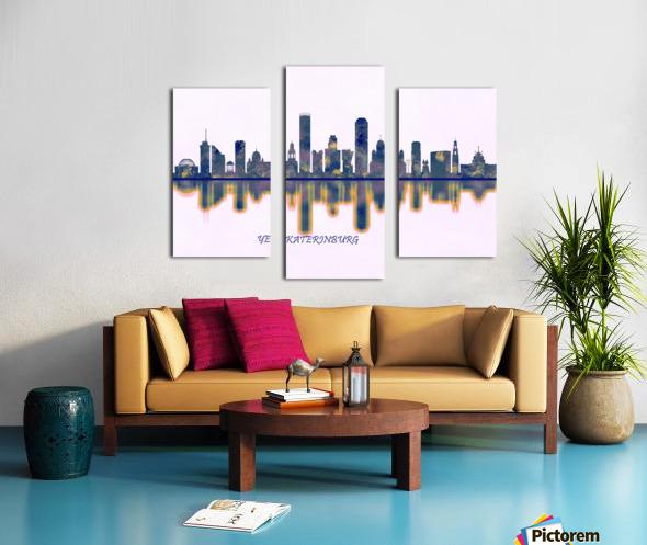 Yekaterinburg Skyline Canvas print