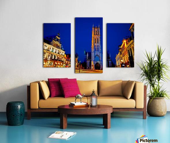 Beautiful Belgium 2 of 7 Canvas print