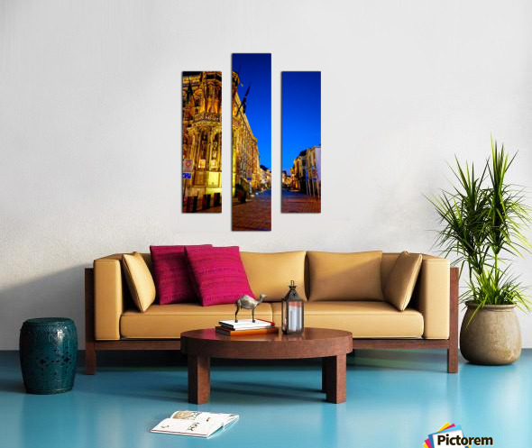 Beautiful Belgium 3 of 7 Canvas print