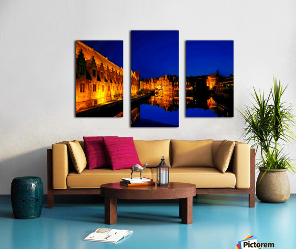 Beautiful Belgium 5 of 7 Canvas print