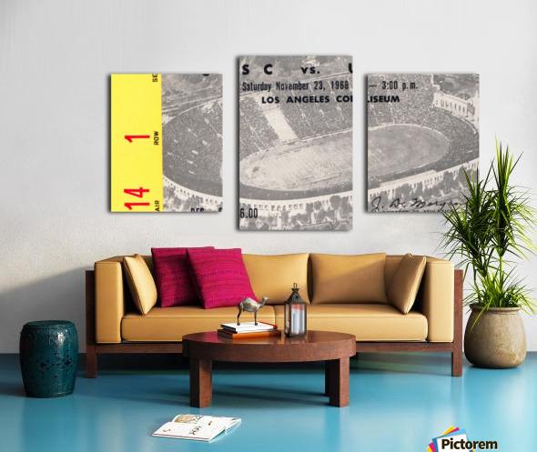 1968 UCLA vs. USC Canvas print