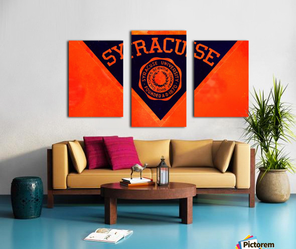 Vintage Syracuse Art Canvas print