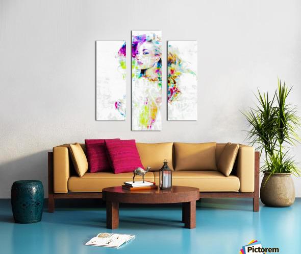 Hey Baby Canvas print