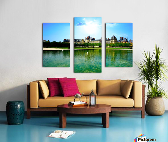 Chateaus of France Canvas print