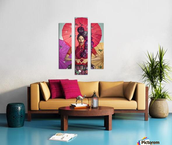 Knit II Canvas print