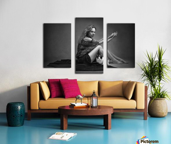 Portrait Series I Canvas print