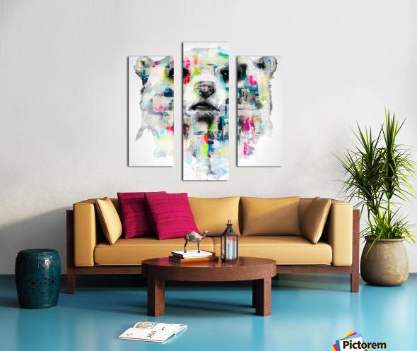 L ours Canvas print