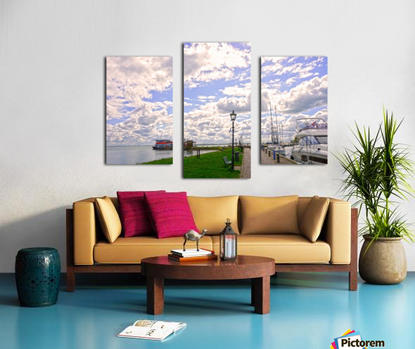 Inland Harbor Netherlands 3 of 5 Canvas print