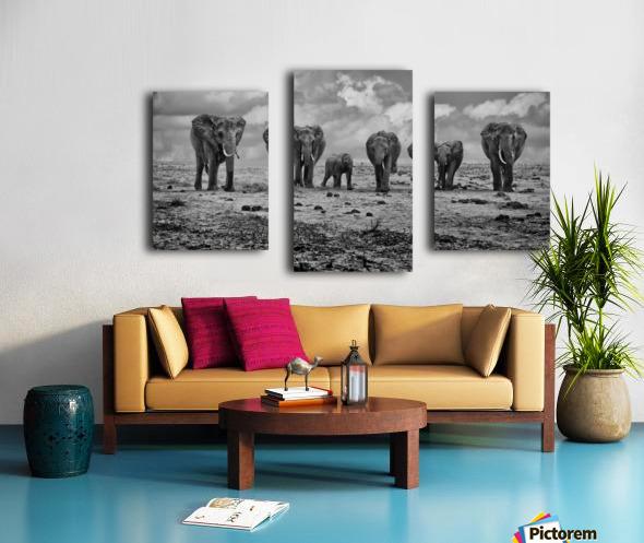 Big Family Canvas print