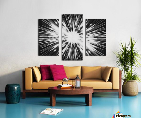Miracle BNW Canvas print