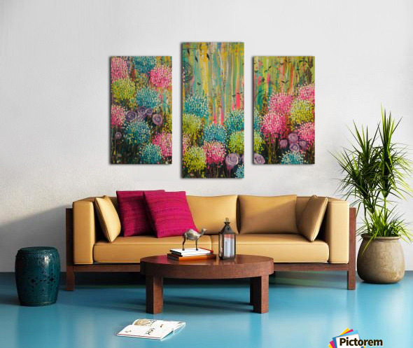 Flower Candy  Canvas print
