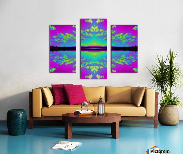 Portal  26  Canvas print