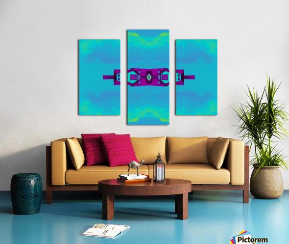 Portal  97  Canvas print