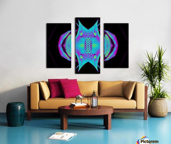 Portal  76  Canvas print