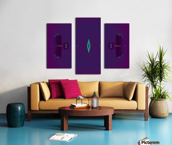 Portal  80  Canvas print