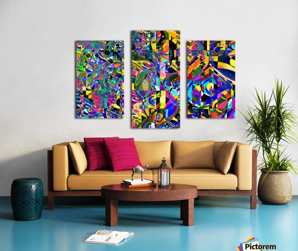 Eclosion fractale Canvas print