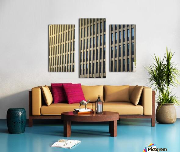 buildings windows  Canvas print