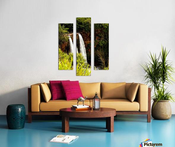 Kauai Waterfalls Canvas print