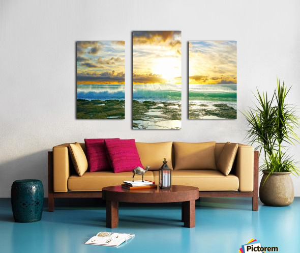Changing of the Tides Canvas print