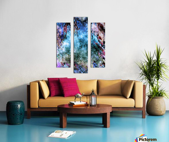 Icecapades Canvas print