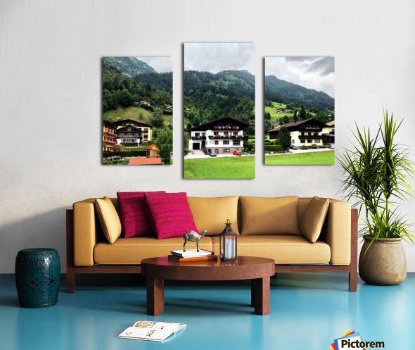 Hofgastein Dolomities Alpen Canvas print
