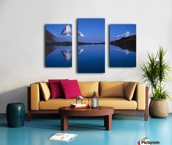 Night Mirror Canvas print