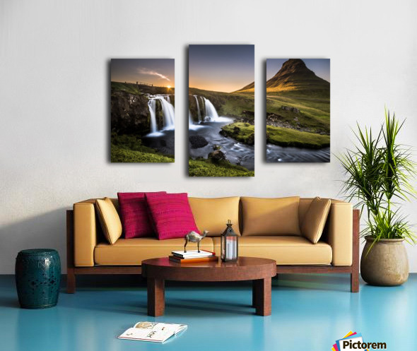 Fairy-Tale Country Canvas print