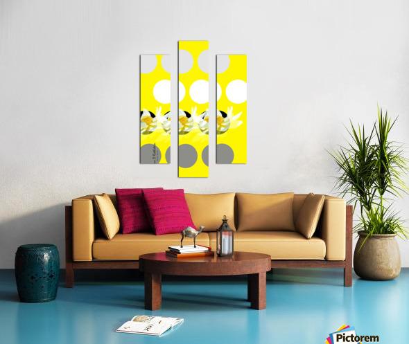 Lotus 3 Canvas print