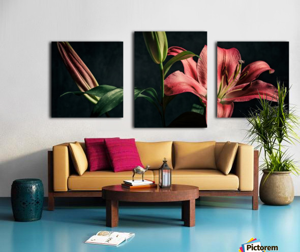Floraison 1 Canvas print