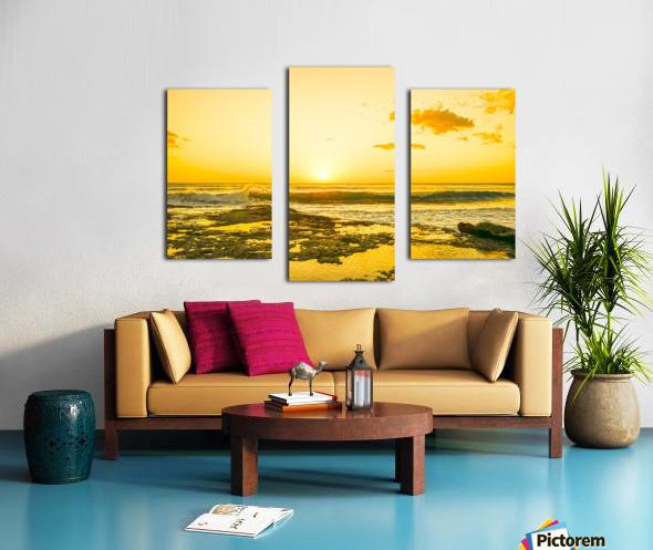 Golden Moment Canvas print