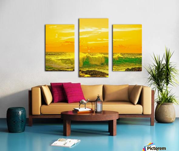 At the Sea Shore Canvas print