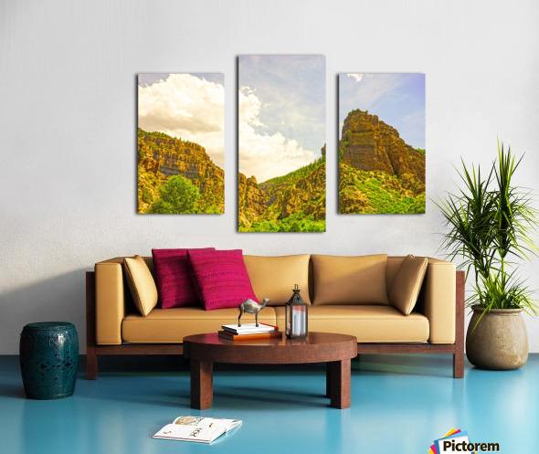 Golden Colorado Canvas print