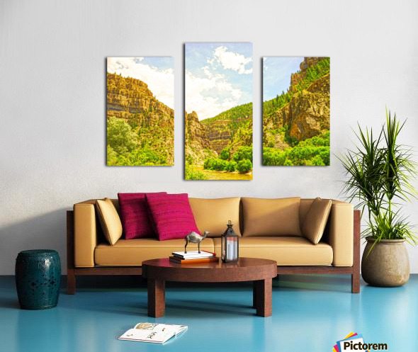 Golden Colorado 2 Canvas print