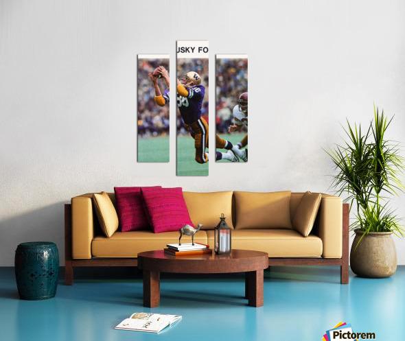 1980 Washington Huskies Football Poster Canvas print