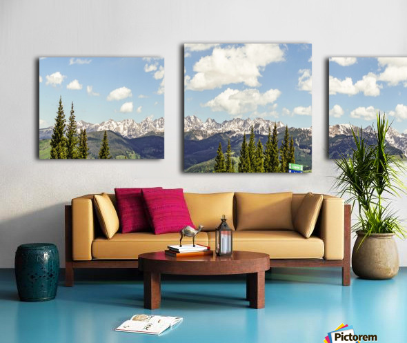 Wild Colorado  Canvas print