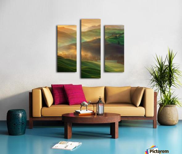 Morning Dreams Canvas print