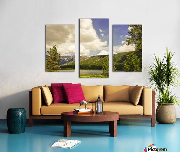 Back Country Colorado 6 of 8 Canvas print