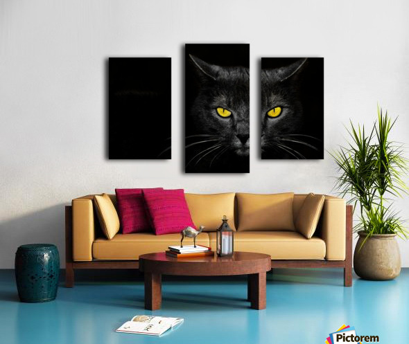 Monster Kill Canvas print