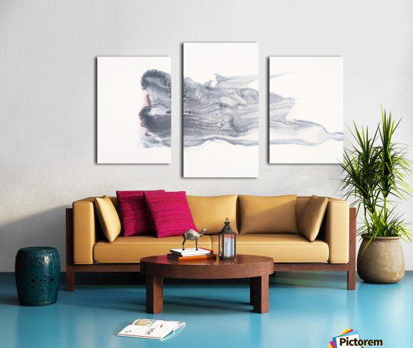 She Effervesces Canvas print
