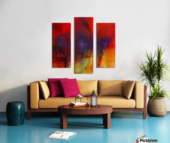 Akina Canvas print